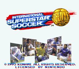 International Superstar Soccer Deluxe (E)